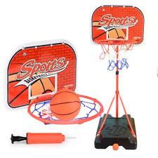 Basketball Hoop Indoor Basketball Stand For Kids Boys Adjustable Height 35�-59�