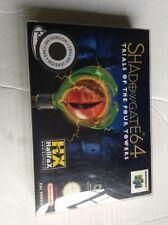 Nintendo 64 N64 Game  Cib Shadowgate 64 Italy English Pal Version Free Case