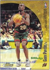 "1998-99 FINEST MYSTERY FINEST REFRACTOR: GARY PAYTON""THE GLOVE""/RON MERCER #M34"