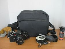 KONICA AUTOREFLEX TC 35mm~Gemko 1A 55mm Lens~Camera Bag~Gemko Softon~Gemco Cross