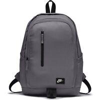 Men's Nike All Access Soleday Backpack Rucksack Bag Grey 25L Inter Laptop Sleeve