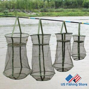 Sougayilang High Quality 3-Layers Fishing Net Shrimp Mesh Net Monofilament Fish