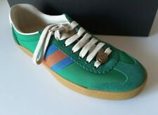 GUCCI GREEN SUEDE SNEAKERS 40 used ones