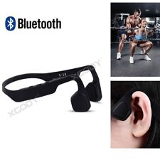 Headphones Bone Conduction Bluetooth Stereo Headset Open Ear Wireless with Mic