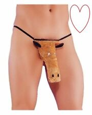 mens thong horse joke novelty posing pouch hilarious