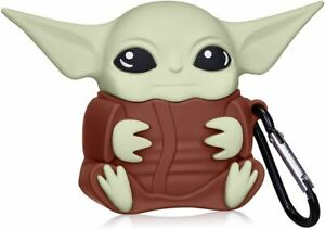 Shockproof Premium Case Baby Yoda Silicone Protective Cover for AirPod 1/2