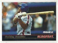 1992 Pinnacle Baseball - Slugfest - #6 - Bobby Bonilla - New York Mets