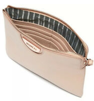 MIMCO Medium Pouch Pancake Echo Wallet Clutch Bag Rosegold Hardware BNWT Tags