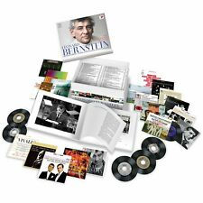 Leonard Bernstein Remastered Edition 100 CD Box Set 225 Works & 200 Page Book