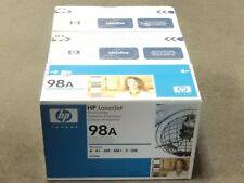 HP 92298A Black 92298X Black Toner Cartridge LaserJet 5M New Sealed Box Lot Of 3