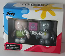 The Disney Afternoon Doug Porkchop Vinylmation Set NIB