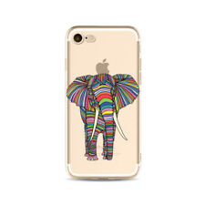 Elephant iPhone X Case Phone Cases Cover Elephants Colourful Fun Yoga Hippy