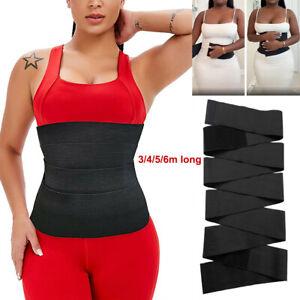 Snatch Me Up Bandage Wrap Lumbar Waist Support Sauna Belt Trimmer Shaper Corset