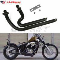 Exhaust Muffler Pipe System Silencer Fit Honda STEED SHADOW VT600 VLX600 USA