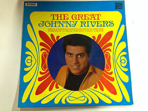 Johnny Rivers The Great VG+ Sunset Label 12``Lp