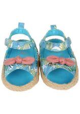 Rosie Pope Baby Girl Footwear Tropical Sandals 0-3 Months Blue Green