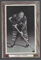 1964-67 Beehive Group III Photos Chicago Blackhawks #59 Elmer Vasko