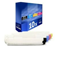 10x Europcart Cartridge XXL For Oki C-8800-DTN C-8600-DN C-8600-CDTN C-8600-DTN