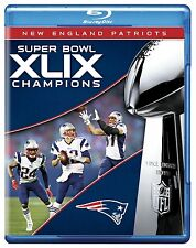 NFL :SUPER BOWL CHAMPIONS XLIX :NEW ENGLAND PATRIOTS-  Blu Ray -  Region free