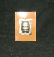 Vintage Barrel Chocolate Mold Stampings Metal Faroy NEW