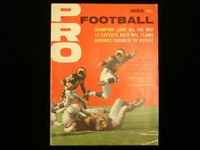1958 Pro Football Magazine - Rams Cover