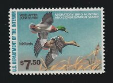 US RW47 $7.50 Federal Duck Stamp Mint w/ PSE '98' Cert Sup OG NH SMQ $145 (003)