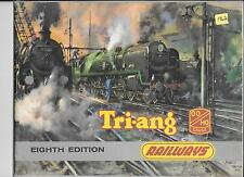 TRI-ANG RAILWAYS OO-- HO TRAIN CATALOG - 1962 8th EDITION- EXCELLENT CONDITION