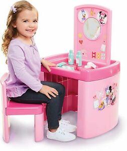 Minnie Mouse Happy Helpers Pop Up Pretend Activity Table Set with One Chair, Pin