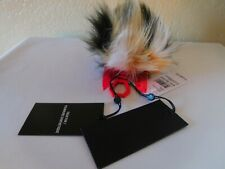 New Kendall And Kylie Bee Dog Faux Fur Bag Charm