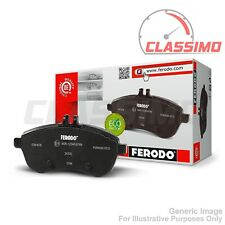Ferodo Front Brake Pads for SMART CITY + FORTWO + ROADSTER - 1999 to 2015
