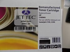 JetTec h4096a tóner para HP c4096a, negro 5000 páginas