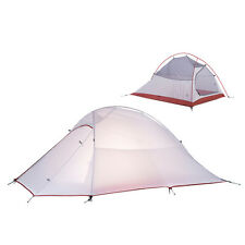Ultralight 2 Person Tent Waterproof Silicone Fabric Camping Tent NH15T002-T20D