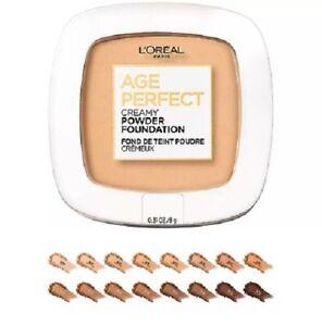 L'oreal Age Perfect Creamy Powder Foundation/ Radiant Satin  - You Choose  - New