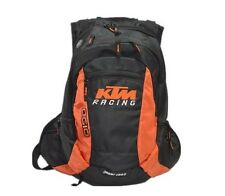 KTM Style 20L Orange Polyester Motorcycle Bike Motocross Backpack Rucksack Bag A