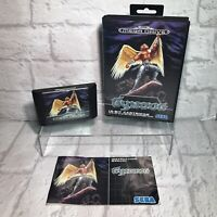 GYNOUG Mega Drive SEGA RARE Game - COMPLETE - Boxed PAL - Tested Working VGC
