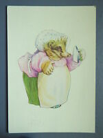 R&L Modern Postcard: Beatrix Potter, Tale of Mrs Tiggy Winkle 1980