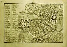 1767: J.J.DE LALAND,TOPOGRAFICA.PARMA,PARME,ROMAGNA Doppio Foglio Cm42 x 29.ETNA