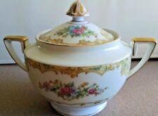Noritake Alvin Sugar Bowl and Lid # 95649 Circa 1933