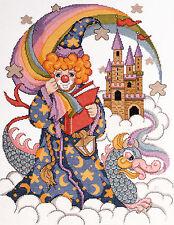 Cross Stitch Kit ~ Design Works The Wizard / Merlin Clown #DW9280 OOP SALE!
