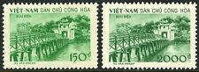 Viet Nam 86-87, MI 89-90, MNH. Ngoc Son Temple - Temple of Jade. Bridge, 1958