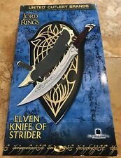 LOTR UC1371WGNB United Cutlery Knife of Strider Lord of the Rings, New Old Stock