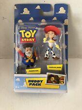 RARE Buddy Pack Toy Story Prospector Yodeling Jessie NEW 2009 Disney Pixar