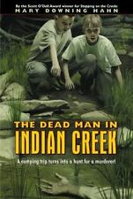THE DEAD MAN IN INDIAN CREEK Mary D Hahn signed murder mystery action pb KDFY