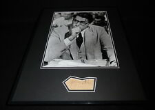 Gregory Peck Signed Framed 16x20 Photo Display JSA To Kill a Mockingbird
