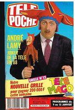 B- Télé Poche N°1143 André Lamy,Stefanie Powers,Mathilda May,Michel Fugain