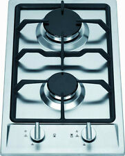 Ramblewood Green Natural Gas 2 Burner Cooktop, GC2-43N
