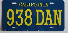 DIRTY MARY CRAZY LARRY 69 CHARGER R/T 938 DAN LICENSE PLATE PETER FONDA MOPAR