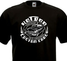 T-shirt HOT ROD - Custom Cars - Vintage & Original  Kustom Kulture Cadillac 60's
