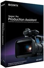 Sony Vegas Pro Production Assistant 2