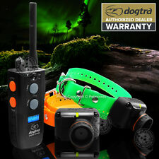 NEW Dogtra 2502T&B TRAINER & BEEPER 2-Dog Training Collar 2502TB 1-Mile 2500 T&B